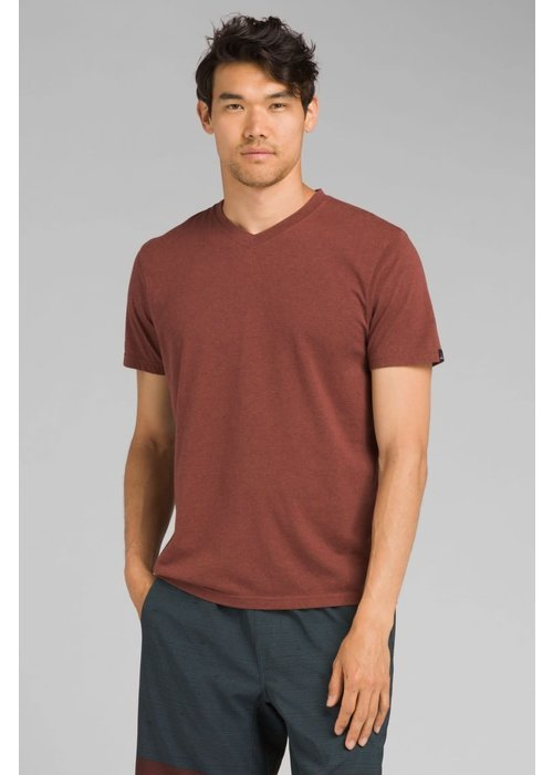 PrAna PrAna V-Neck - Maple Heather