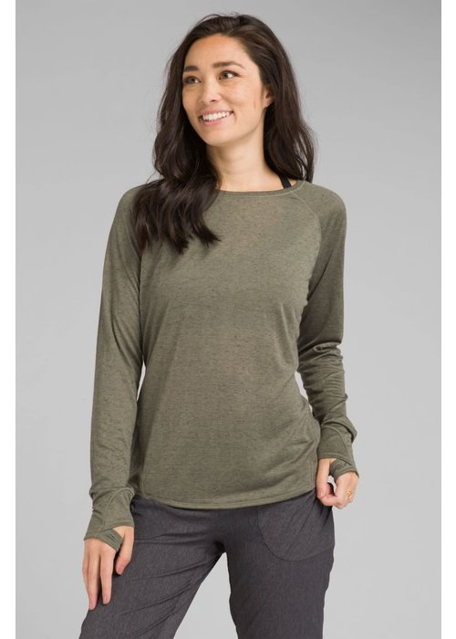 PrAna PrAna Iselle Long Sleeve - Rye Green