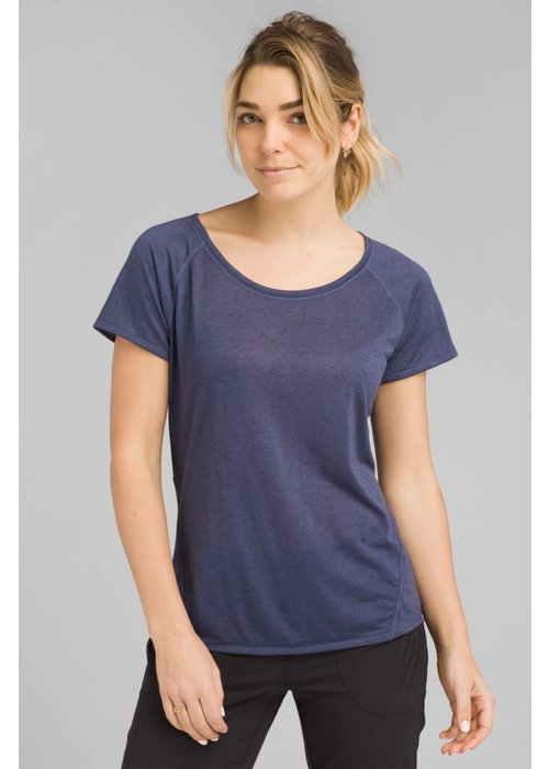 PrAna PrAna Iselle Short Sleeve - Midnight Dew