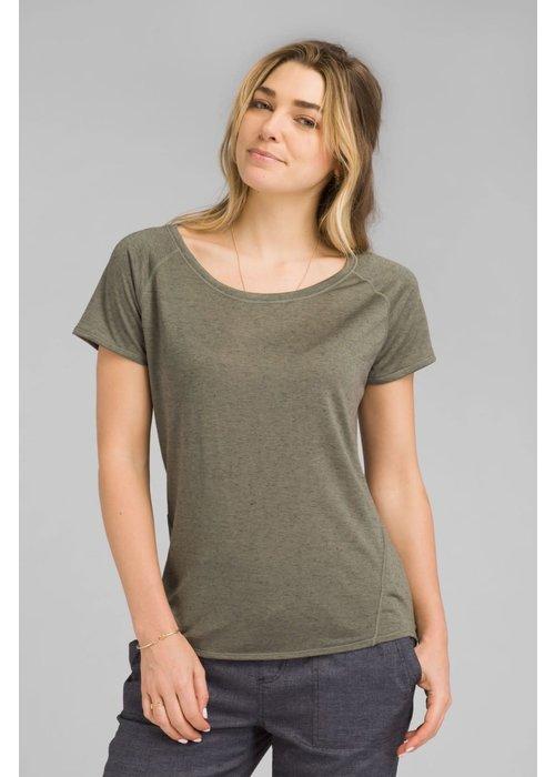 PrAna PrAna Iselle Short Sleeve - Rye Green