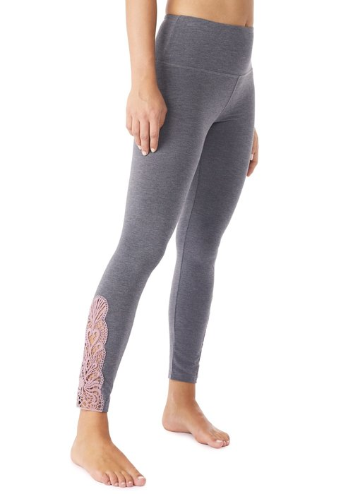 Mandala Mandala Lace Legging - Grey/Moment