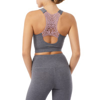 Mandala Crochet Bra - Grey/Moment
