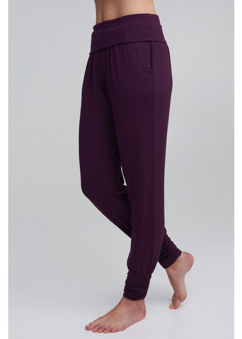 Asquith Asquith Long Harem Pants - Berry