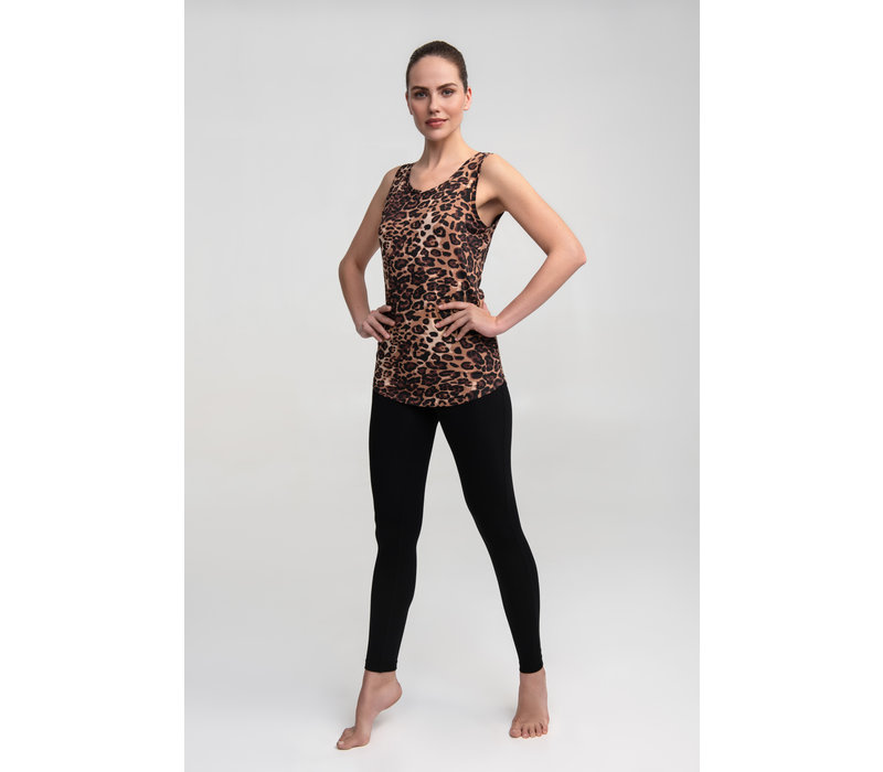 Asquith Go To Vest - Leopard