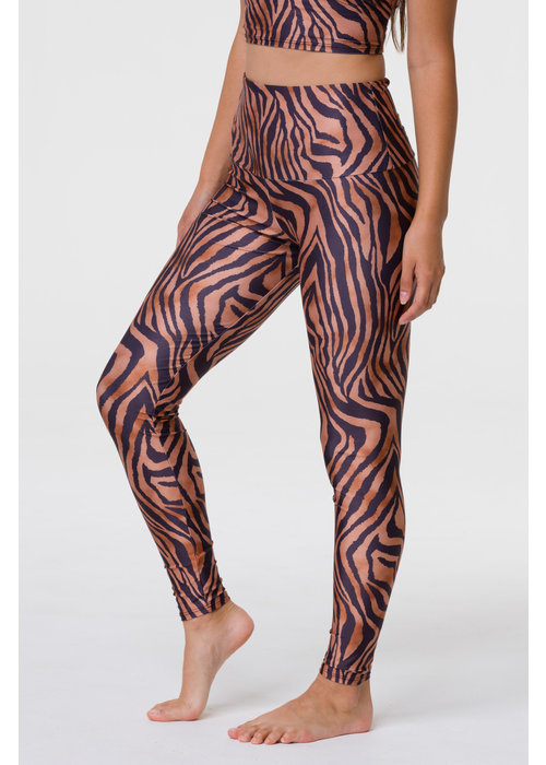 Onzie Onzie High Rise Legging - Tiger