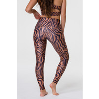 Onzie High Rise Legging - Tiger