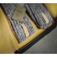 Soxs Dames Antislip Sokken - Grey/Aspen Gold Low