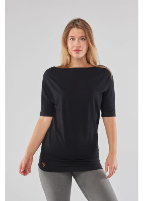Urban Goddess Urban Goddess Bhav Yoga Tunic - Urban Black