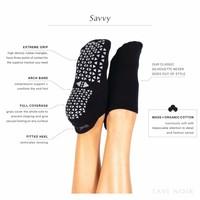 Tavi Noir Antislip Sokken Savvy - Ebony