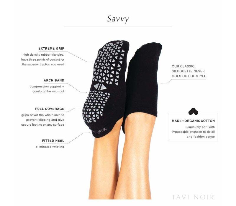 Tavi Noir Grip Socks Savvy - Lavender