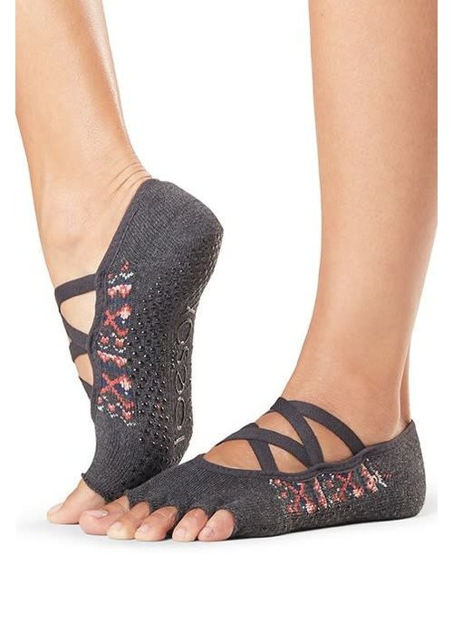Toesox Toesox Elle Half Toe - Sundown