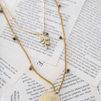 Beautiful Story Radiant Gouden Ketting - Tijgeroog