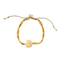 A Beautiful Story Gratitude Gouden Armband - Tijgeroog