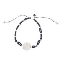A Beautiful Story Gratitude Silber Armband - Lapis Lazuli