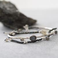 A Beautiful Story Dreamy Silver Bracelet - Labradorite