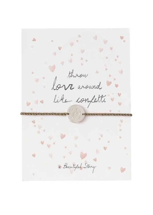 A Beautiful Story A Beautiful Story Sieraden Ansichtkaart - Confetti