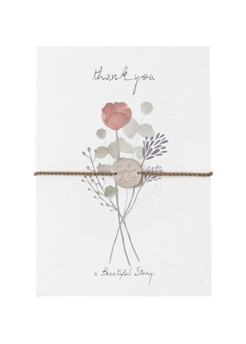 A Beautiful Story A Beautiful Story Jewelry Postcard - Flowers