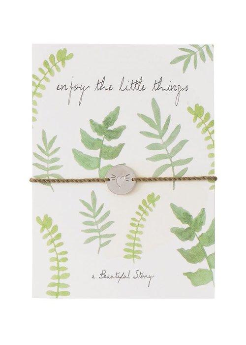 A Beautiful Story A Beautiful Story Jewelry Postcard - Leafs