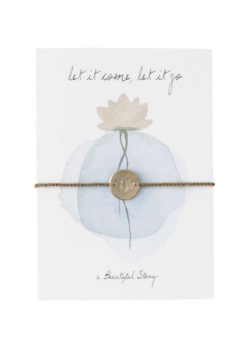 A Beautiful Story A Beautiful Story Sieraden Ansichtkaart - Lotus