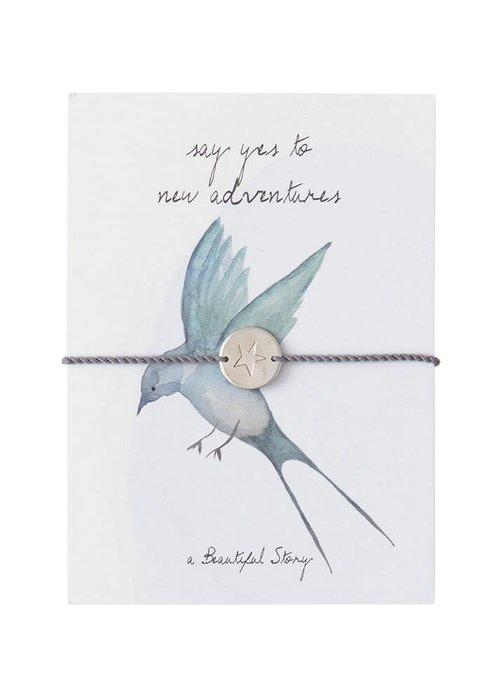 A Beautiful Story A Beautiful Story Sieraden Ansichtkaart - Swallow