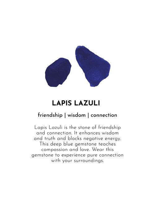 A Beautiful Story A Beautiful Story Charming Silver Necklace - Lapis Lazuli