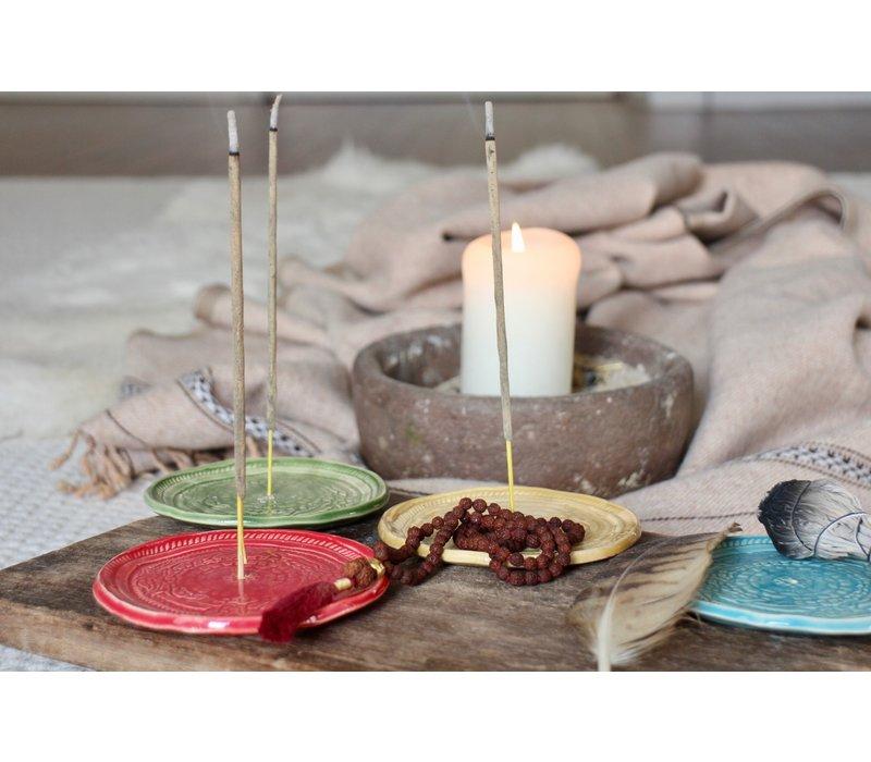 Mala Spirit Incense Burner - Turquoise