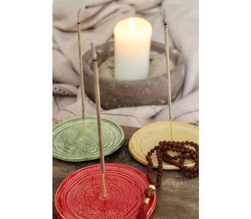 Mala Spirit Incense Burner - Red