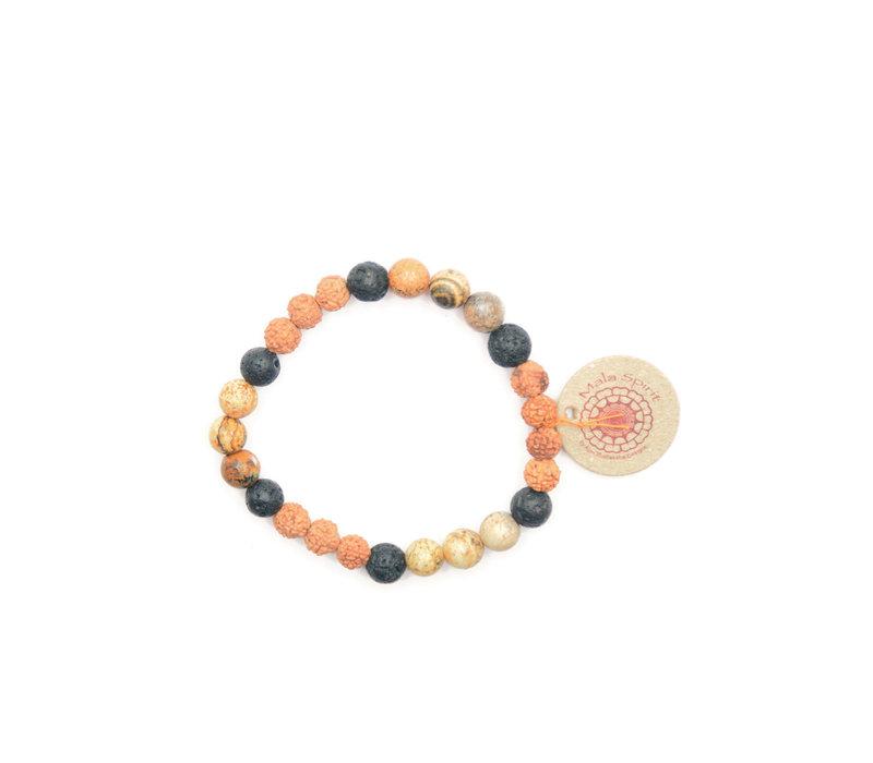 Mala Spirit Roots Bracelet