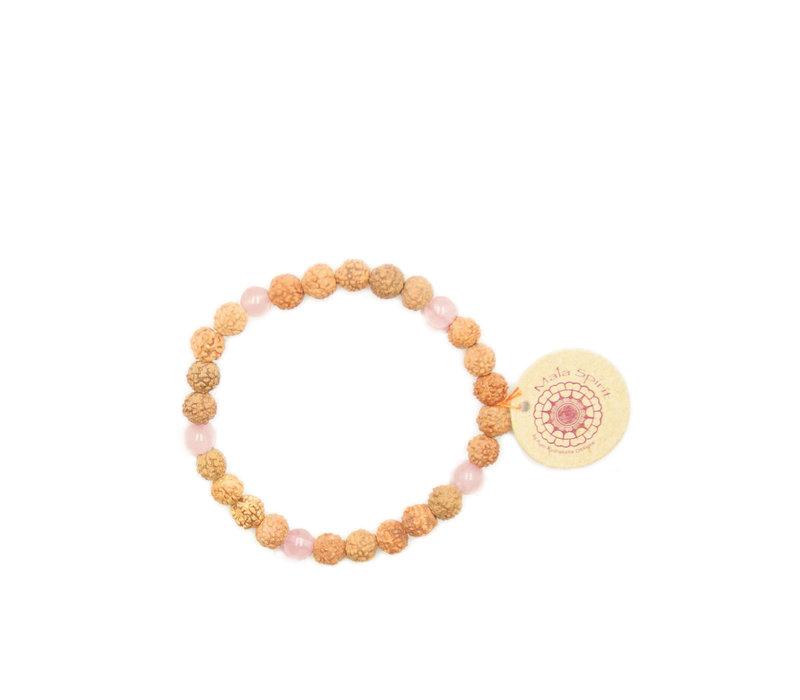 Mala Spirit Love Stone Armband