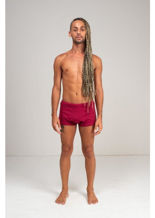 Shakti Activewear Shakti Activewear Brazilian Trunks - Red Wine