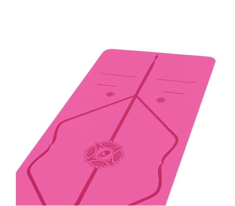 Liforme Gratitude Yogamatte 185cm 68cm 4.2mm - Grateful Pink