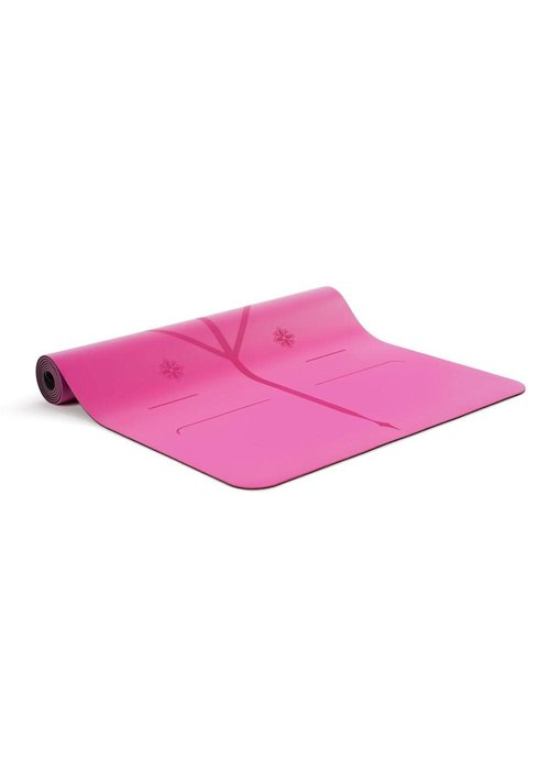 Liforme Liforme Gratitude Travel Yogamat 180cm 66cm 2mm - Grateful Pink