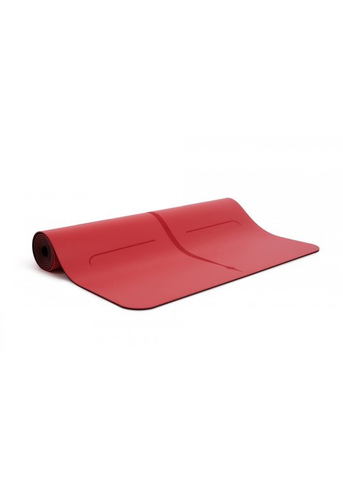 Liforme Liforme Love Travel Yoga Mat 180cm 66cm 2mm - Red