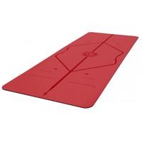 Liforme Love Travel Yoga Mat 180cm 66cm 2mm - Red
