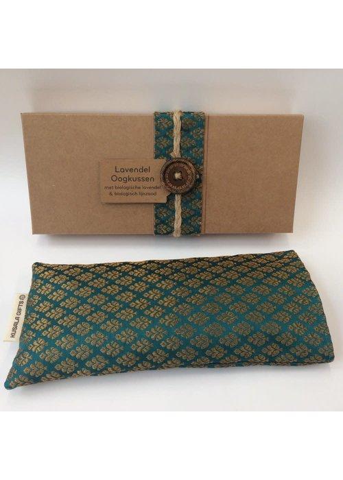 Kusala Kusala Eye Pillow Silk - Turquoise
