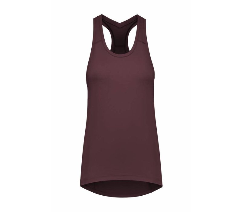 Tame The Bull A-Line Yoga Top - Modica Brown