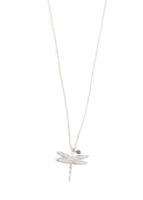 A Beautiful Story A Beautiful Story Paradise Silver Necklace - Labradorite