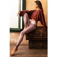 Niyama Sol Dip Dye Legging - Lavender Latte