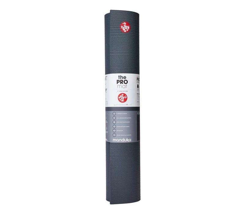 Manduka Pro Yogamatte 180cm 66cm 6mm - Thunder