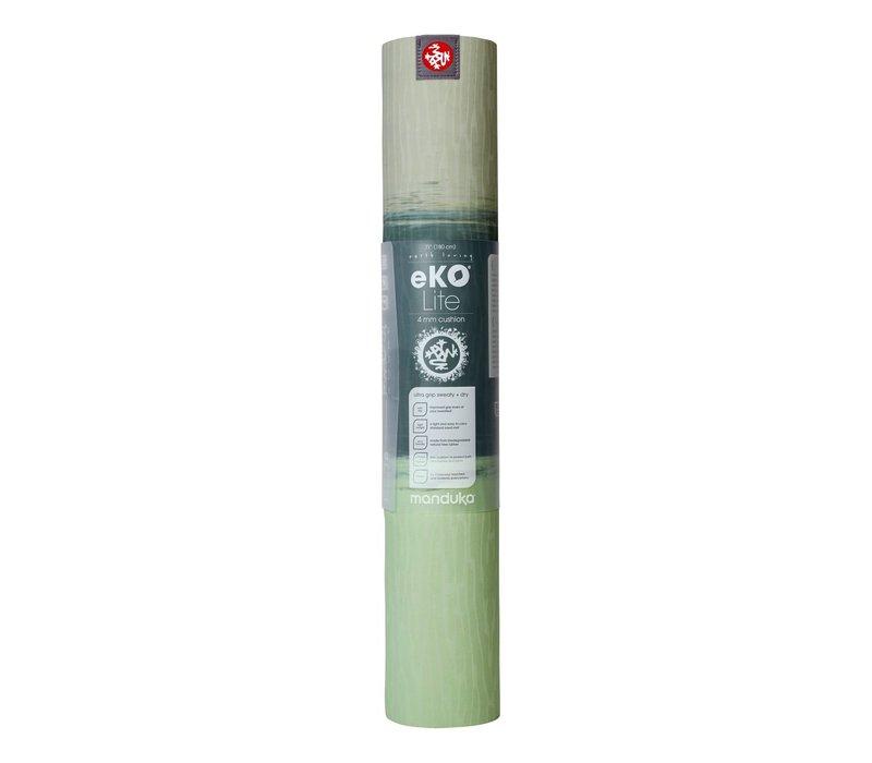 Manduka eKO Lite Yoga Mat 180cm 61cm 4mm - Green Ash Stripe