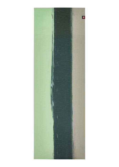 Manduka Manduka eKO Lite Yoga Mat 172cm 61cm 4mm - Green Ash Stripe