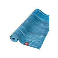 Manduka eKO Superlite Yoga Mat 180cm 61cm 1.5mm - Dresden Blue Marbled