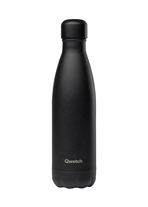 Qwetch Qwetch Insulated Bottle 500ml - Black