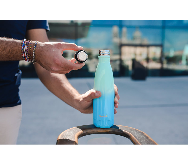 Qwetch Thermosflasche 500ml - Sky Blue