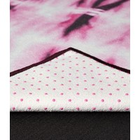 Yogitoes Yoga Handtuch 172cm 61cm - Tie Dye Fuchsia