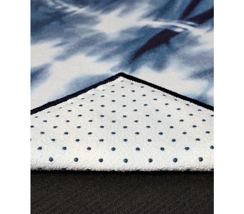 Yogitoes Yoga Towel 172cm 61cm - Tie Dye Navy