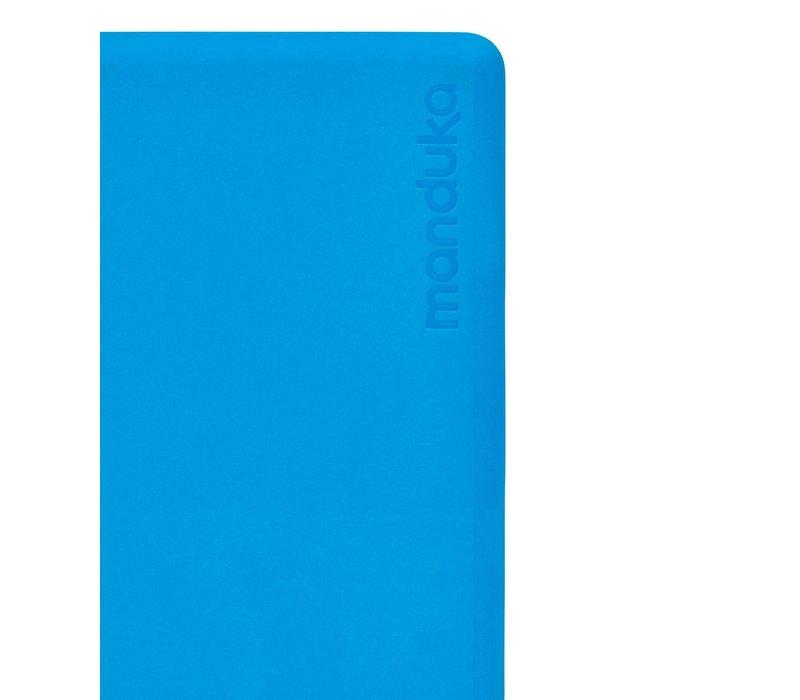 Manduka Recycled Foam Yoga Blok - Dresden Blue