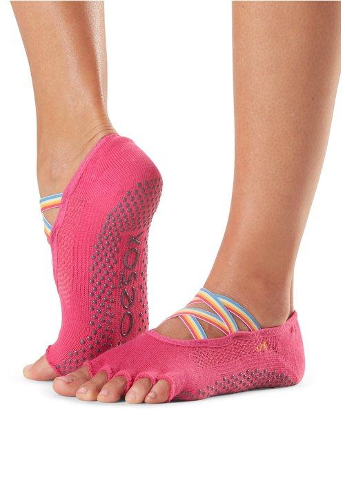 Toesox Toesox Yoga Sokken Elle Open Tenen - Jetset
