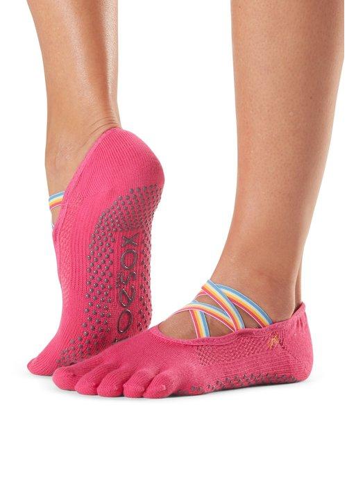Toesox Toesox Yoga Sokken Elle Dichte Tenen - Jetset