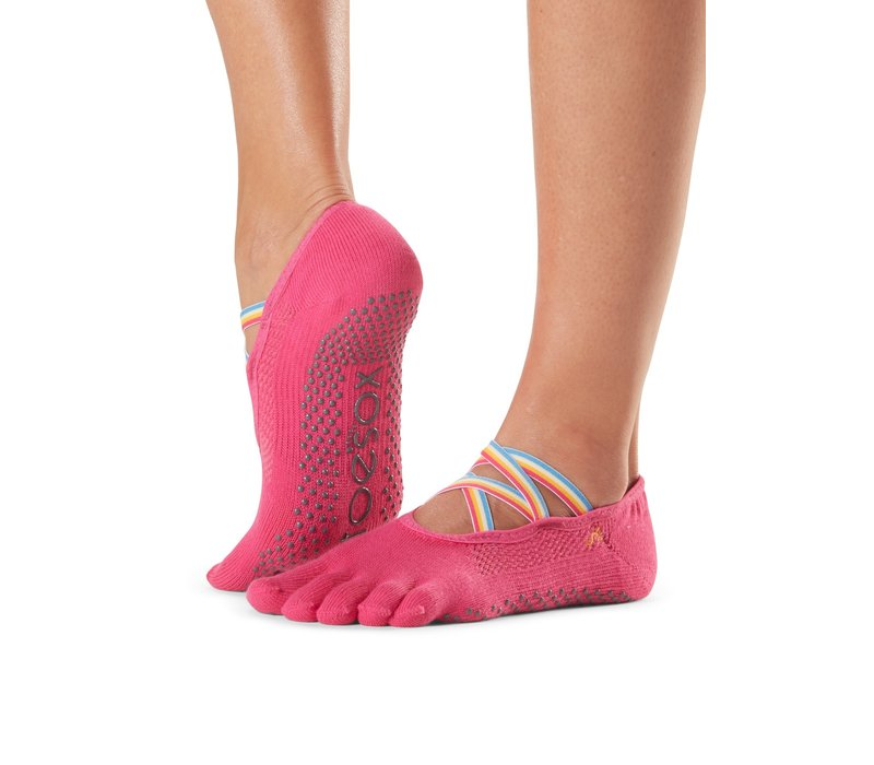 Toesox Yoga Sokken Elle Dichte Tenen - Jetset